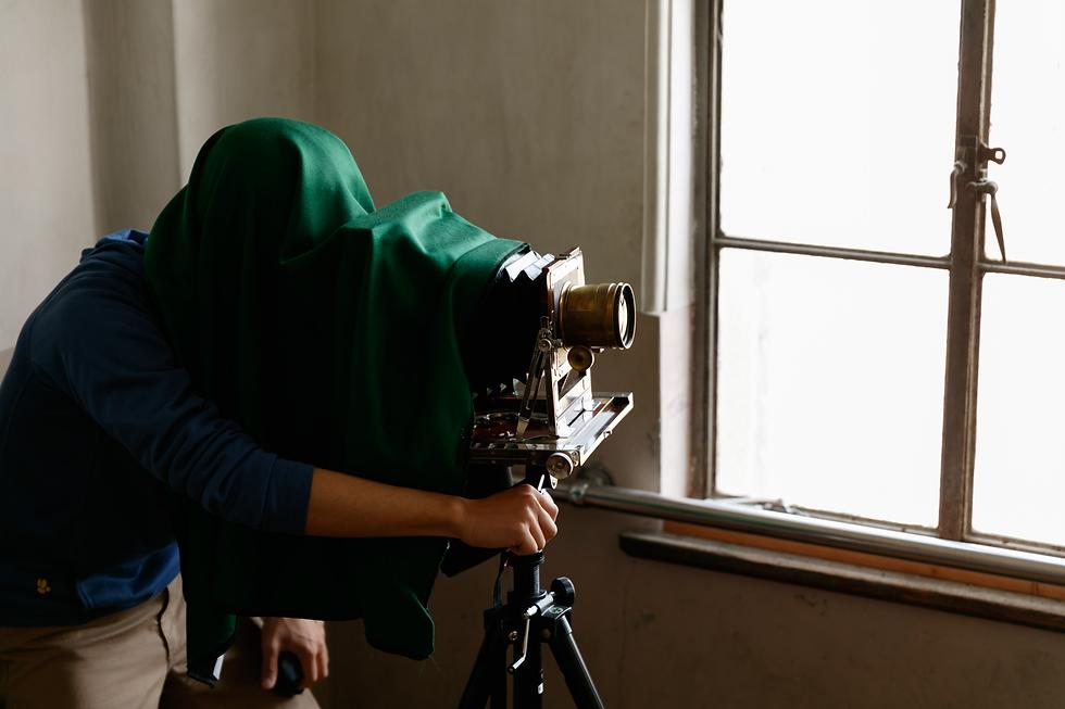 湿板写真 撮影体験