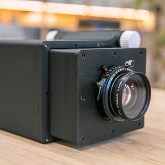 フィルム用のレンズでも装着可能です。