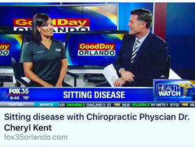 "Dr. Kent Shares Tips to Avoid ""Sitting Disease"" with Fox 35 Good Day Orlando"