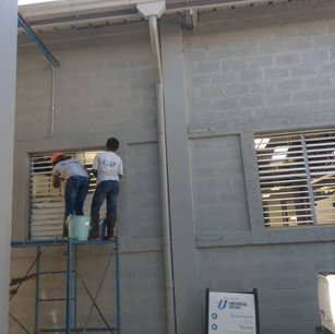 Window Panel Cleaning
