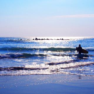 サーフィン風景