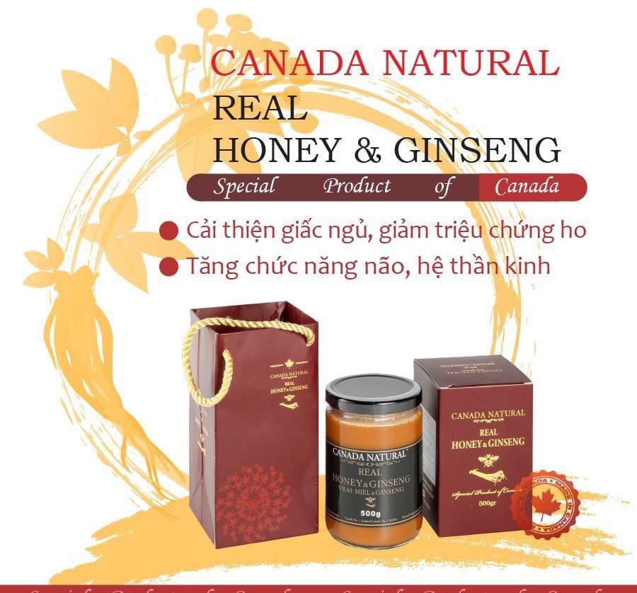 Canada Natural Real Honey & Ginseng