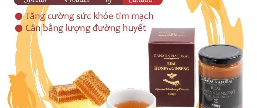 Canada Natural Real Honey & Ginseng