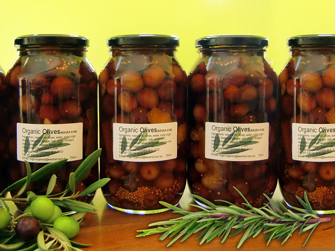 Valley Of The Giants Pickled Olives