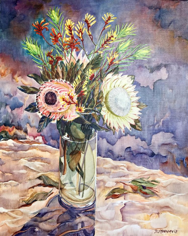 Protea Vase of Flowers