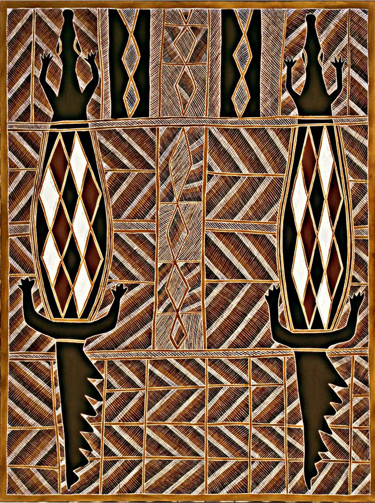 Bura-(Crocodile)-No.40