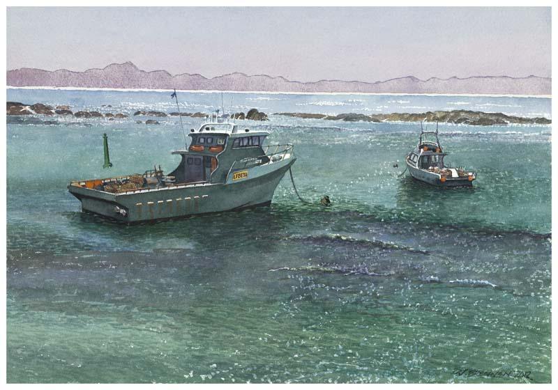 Seagreen Peaceful Bay Boats