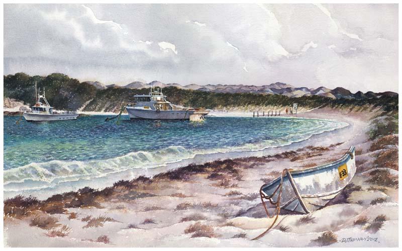 Fishing Boats Peaceful Bay WA