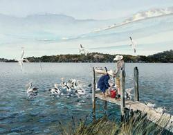 Family Fishing Jetty Walpole WA