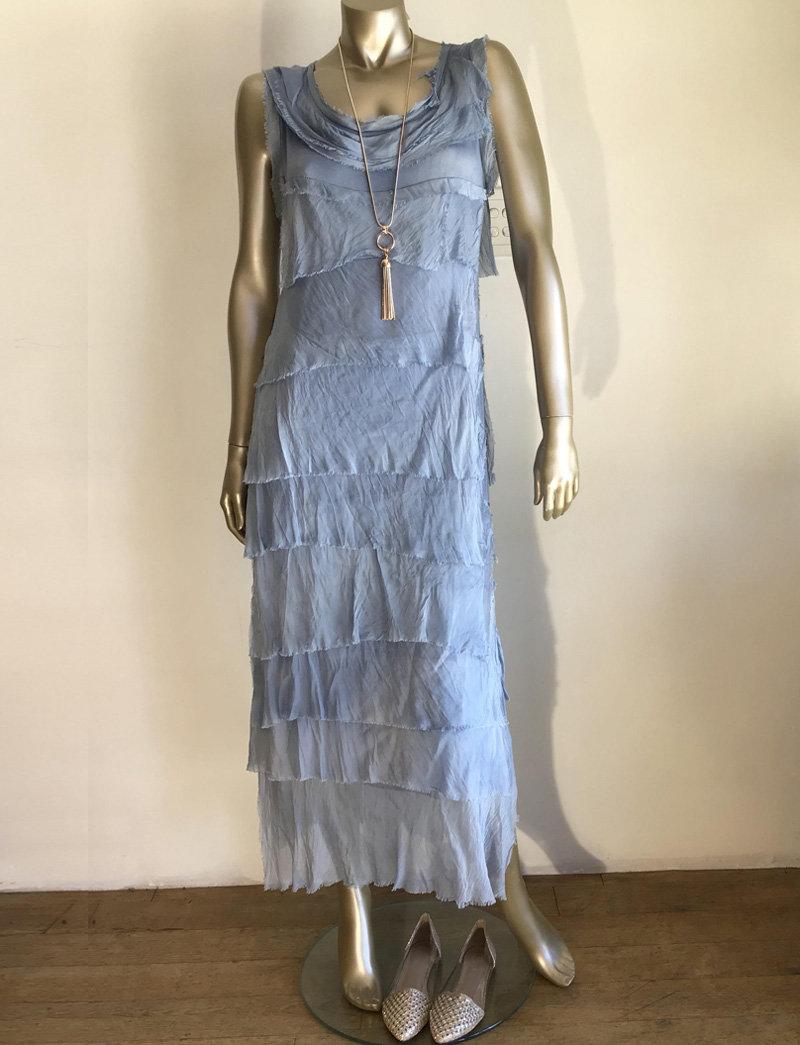 Italian Silk Dress 0501