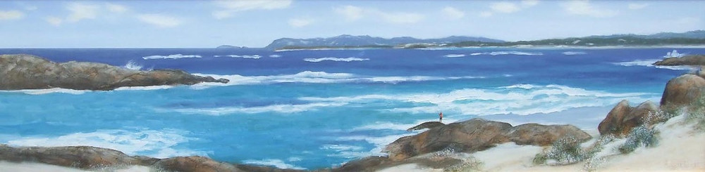 The south coast of Western Australia is a popular place for fishermen, surfers and artists.