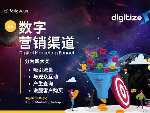 数字营销渠道 Digital Marketing Funnel