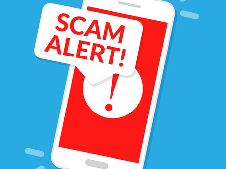 Scam alert! Imposters are using our number to spoof