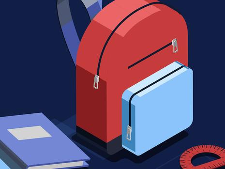 School backpacks: exactly how heavy is too heavy?