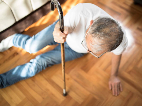 65 or over? Your risk of falling is something to start taking seriously
