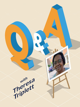 Q&A: Theresa Triplett is always willing to help out