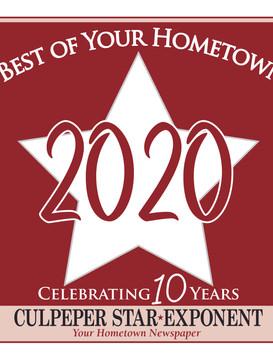 Blue Ridge Wins Culpeper Best Award 2020!