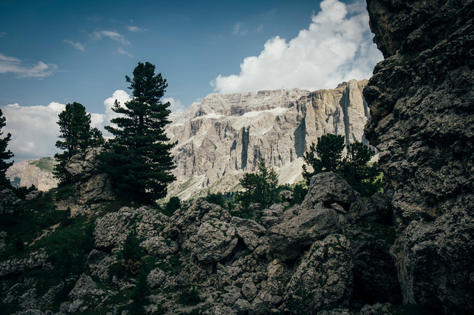 Bouldern in den Dolomiten
