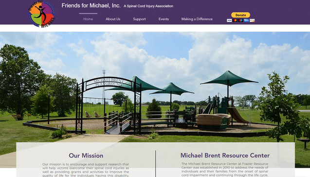 Friends for Michael, Inc. Homepage