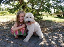 Ella med sin skønne Siku