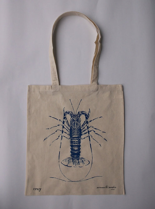 Crayfish Shopping Bag Carrier 100% Cotton UK