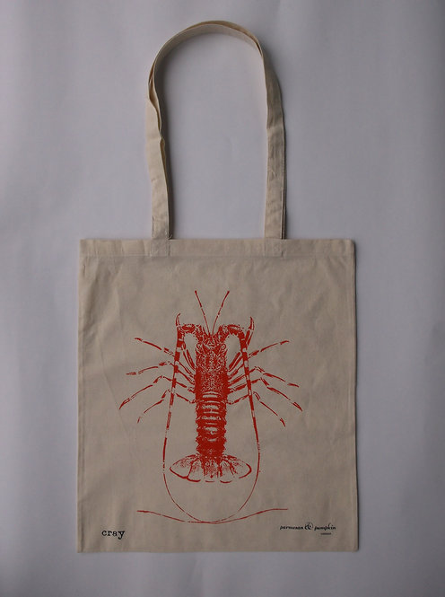 Crayfish Shopping Tote 100% Cotton UK