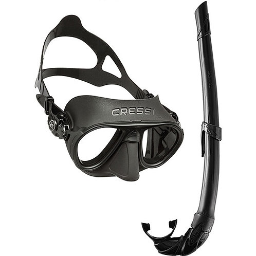 CRESSI Calibro Mask & Corsica Snorkel Package