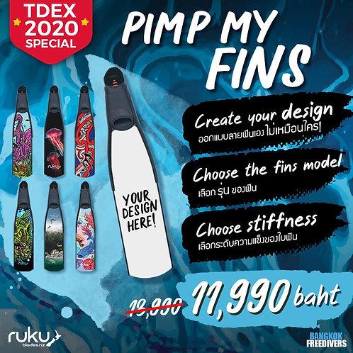 Ruku Freediving Fins - Design Your Own