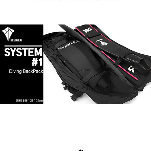 Double K Freediving Diving Backpack