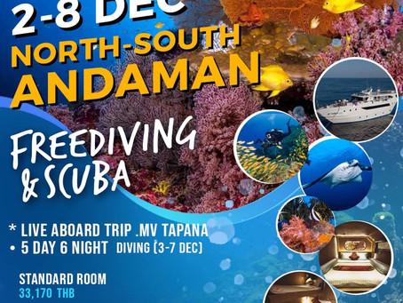 Andaman Liveaboard 2-8 December