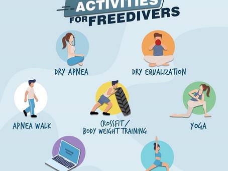 Quarantine Activities for Freedivers