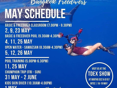May Course Schedule