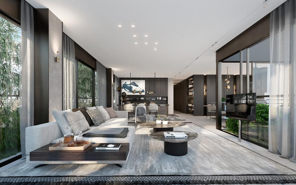 Rama Dotan Architects. Rendering by Ando studio.