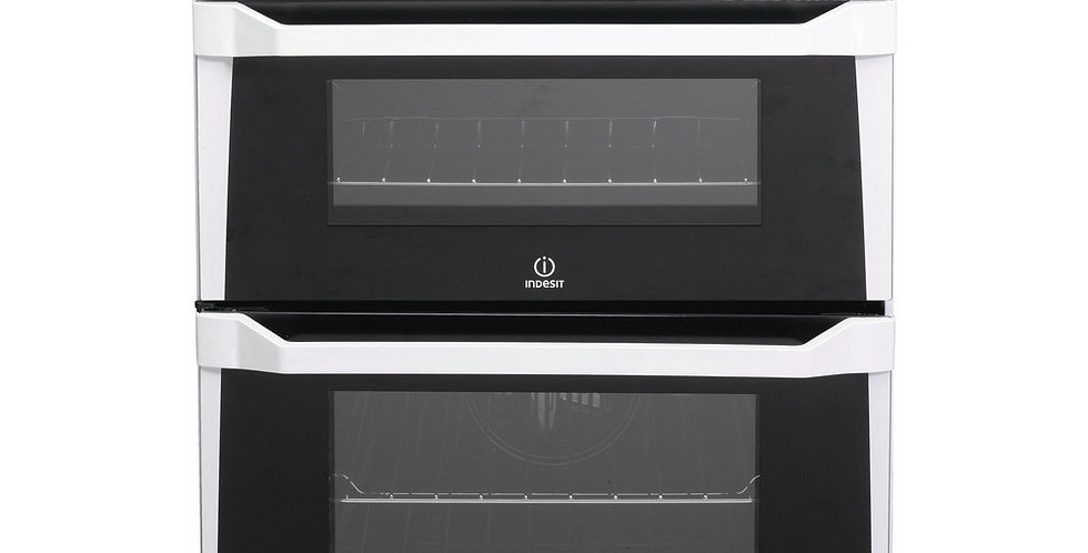 INDESIT ID60C2W Double Cooker