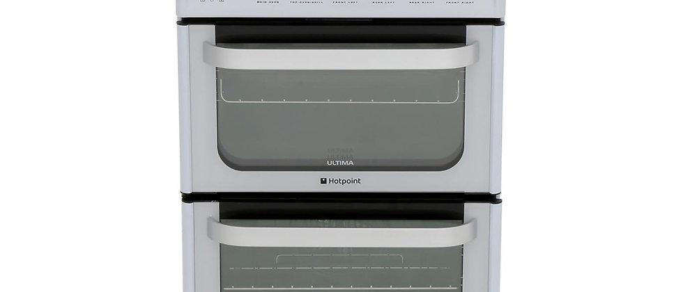 HOTPOINT HUE53PS Double Oven Cooker
