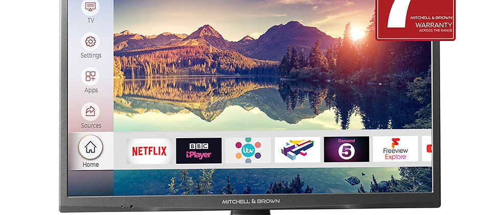 "MITCHELL & BROWN JB241881FSM 24"" SMART TV"