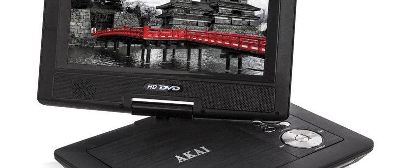 """AKAI A51006 10"""" Portable DVD Player"""