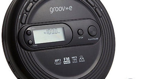 GROOVE GV1104 Personal CD Player