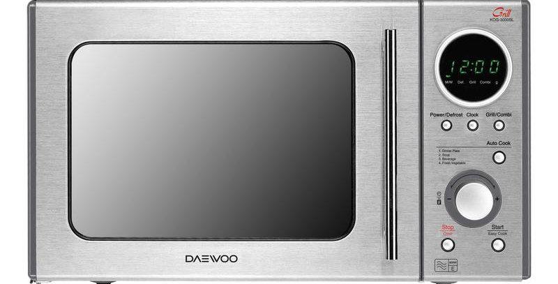 DAEWOO KOG3000SLR Microwave and Grill