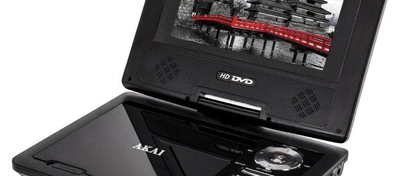 """Akai 7"""" Portable DVD player A51007"""