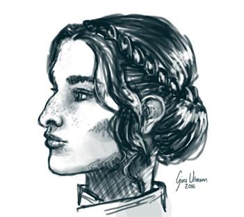 Josephine Montilyet Sketch