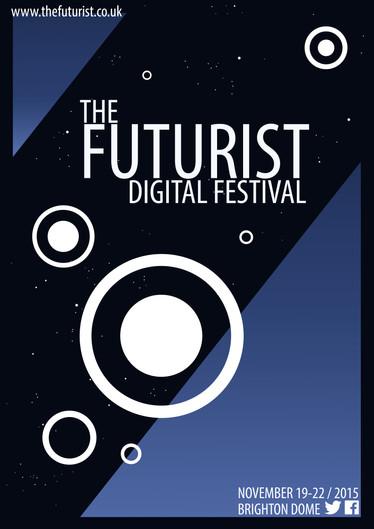 The Futurist Festival Poster Mock-Up