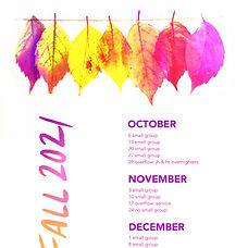 youth calendar