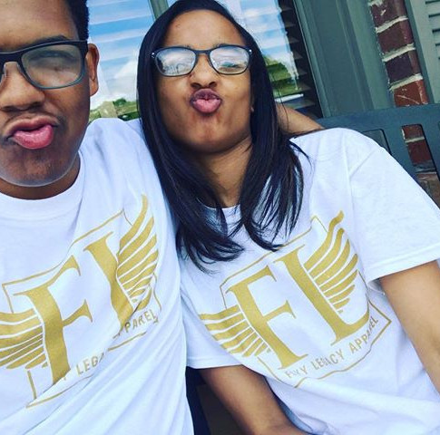 Check out these two rocking the brand together! ❤️💯#FlyyLegacy #LiveYourLegacy #flyylegacyapparel