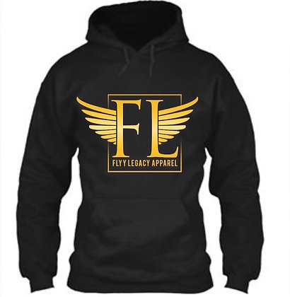 FLYY LEGACY CLASSIC PULLOVER HOODIE
