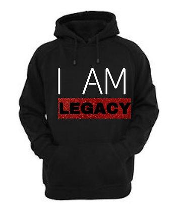 #IAmLegacy Black Hoodie