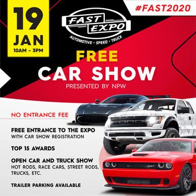 309 FAST Expo Social Media Ads_FREE Car