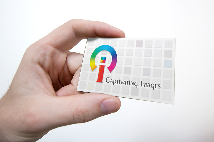 Custom business cards by Captivating Images
