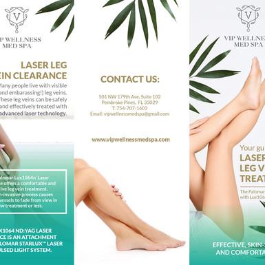 VIP Wellnness Med Spa Laser Leg TRIFOLD-