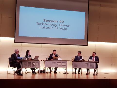 이재영 KGM Lab 대표・윤한나 KGM Lab 소장・다니엘 케리미 국장, '아시아 우리 공동의 미래' 국제포럼 참석
